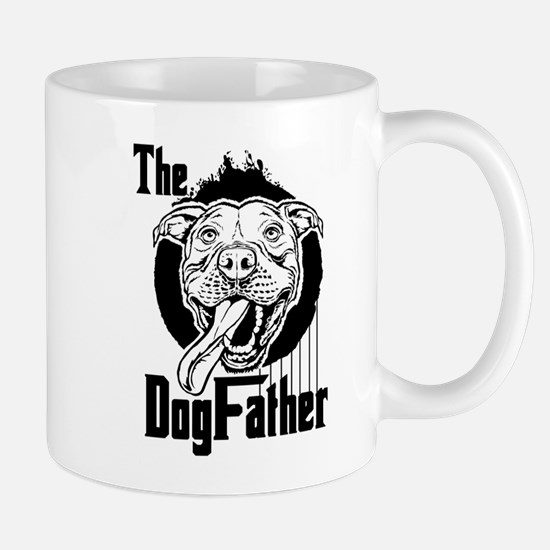 The Pit Bull Dogfather Mugs