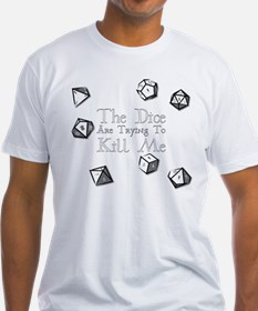 Dice-White T-Shirt