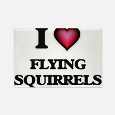 I love Flying Squirrels Magnets