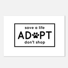 ADOPT Postcards (Package of 8)