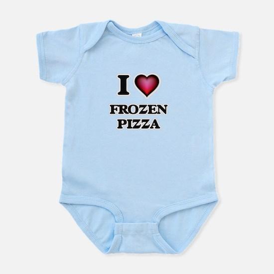 I love Frozen Pizza Body Suit