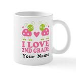 Personalized 2nd Grade Mugs