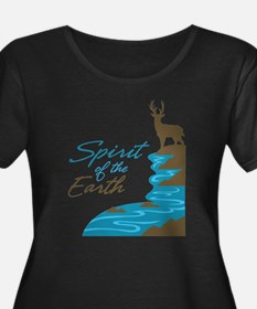 Spirit of the Earth Plus Size T-Shirt