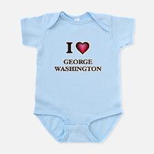 I love George Washington Body Suit
