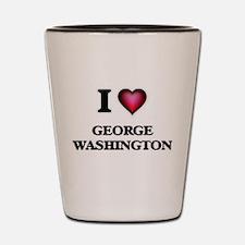 I love George Washington Shot Glass