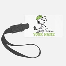 Snoopy Golf - Personalized Luggage Tag