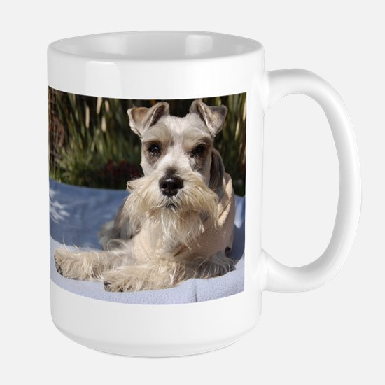Handsome Mini Schnauzer Mugs