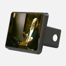 Woman Holding a Balance by Johannes Vermeer Hitch