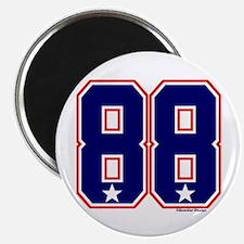 US(USA) United States Hockey 88 Magnet