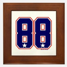 US(USA) United States Hockey 88 Framed Tile