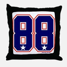 US(USA) United States Hockey 88 Throw Pillow