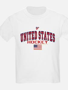 US(USA) United States Hockey 88 T-Shirt