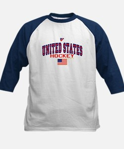 US(USA) United States Hockey 88 Kids Baseball Jers