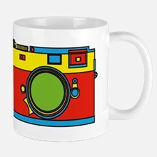 Colorful Camera Mugs