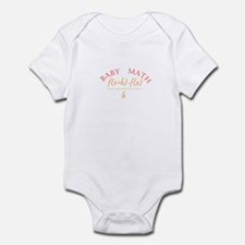 derivitive baby math Body Suit