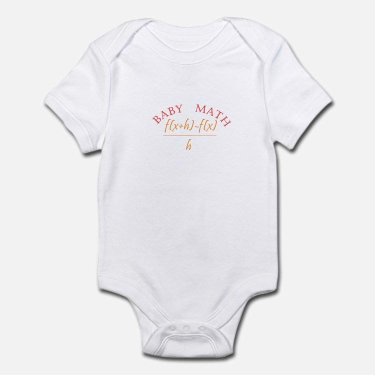 derivitive baby math Body Suit