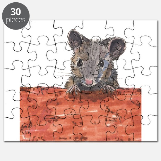 Mouse on Brick Puzzle
