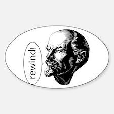 Lenin Loves D&B Oval Decal