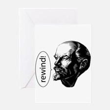 Lenin Loves D&B Greeting Card