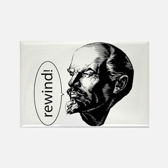 Lenin Loves D&B Rectangle Magnet