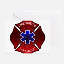 FIREFIGHTER-PARAMEDIC Greeting Cards (Package of G