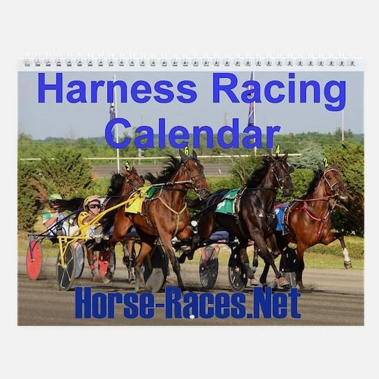 Harness Racing Wall Calendar