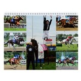 Horse racing thoroughbred race horse race Calendars