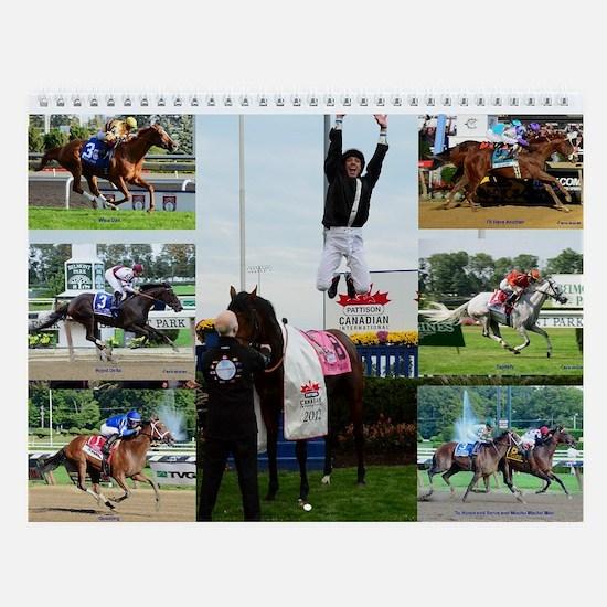 Horse Racing Wall Calendar