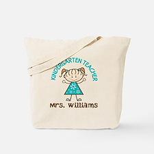 Personalized Kindergarten Teacher Gift Tote Bag