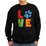 Dog rescue Sweatshirt (dark)