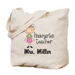 Kindergarten Teacher Personalized Tote Bag