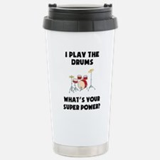 Cute Drum set Travel Mug