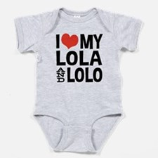 I Love My Lola and Lolo Body Suit