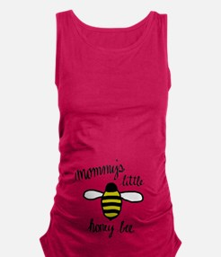 Mommy's Little Honey Bee Maternity Tank Top