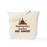 Kindergarten Teacher Custom Tote Bag