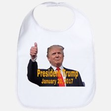 President Trump Baby Bib