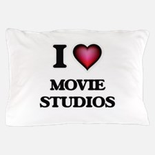I love Movie Studios Pillow Case