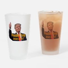President Trump Drinking Glass