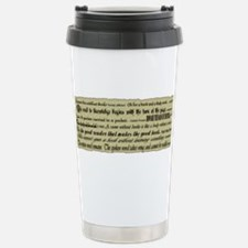 Cute Fiction Travel Mug