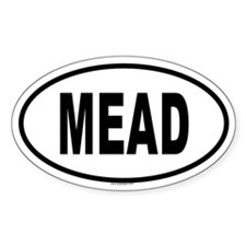 MEAD Oval Decal