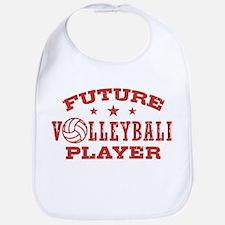 futurevolleyballplay2 Baby Bib