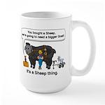 I Bought A Sheep Large Mug