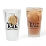 Buy A Bale (Border) Drinking Glass