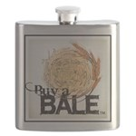 Buy A Bale (Border) Flask