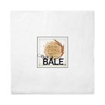 Buy A Bale (Border) Queen Duvet