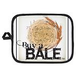 Buy A Bale (Border) Potholder