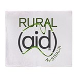 Rural Aid Throw Blanket