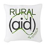 Rural Aid Woven Throw Pillow