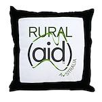 Rural Aid Throw Pillow