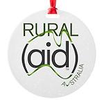 Rural Aid Round Ornament
